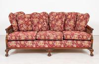 Good Quality Mahogany Bergere Suite (6 of 14)