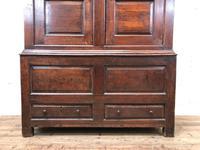 Large Antique 18th Century Welsh Oak Press Cupboard (M-808) (4 of 18)