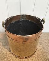Late 19th Century Brass & Copper Bucket (8 of 9)