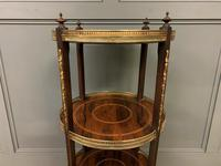 Victorian Inlaid Rosewood Etagere (7 of 9)