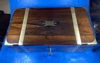 Victorian  Rosewood Writing Slope (8 of 20)