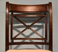 Elegant Single Regency Period Mahogany Side Chair (6 of 7)
