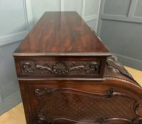 Maple and Co. Large Mahogany Cylinder Desk (20 of 25)
