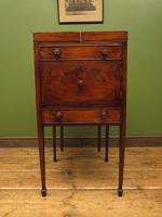 Antique 19th Century Gentleman's Washstand Cabinet, Bedside Cabinet (8 of 17)