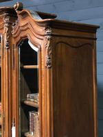 Wonderful French Walnut Bookcase or Cabinet (10 of 25)