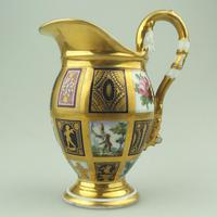 Extraordinary & Very Fine Old Paris Porcelain Gilt Jug Early 19th Century (2 of 12)