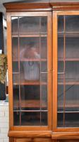 19th Century Victorian Mahogany Breakfront Bookcase (4 of 11)