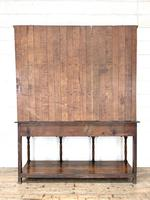 Antique Welsh Oak Pot Board Dresser (10 of 10)