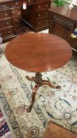 Fine Quality Plum Pudding Wine Table or Lamp Table with Birdcage Operation (5 of 7)