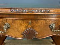 Good Queen Anne Style Burr Walnut Writing Desk (11 of 18)