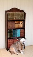 Oak Open Bookcase c.1920 (9 of 11)