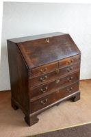 Early 19th Century Oak Writing Bureau (7 of 8)