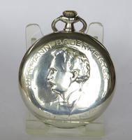 Historical 1930s Silver Doxa Pocket Watch (2 of 5)