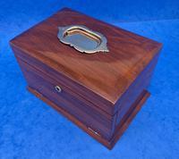 Victorian Walnut Jewellery Box c.1900 (4 of 13)