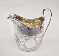Georgian Silver Cream Jug by Peter & Ann Bateman, London 1796 (2 of 7)