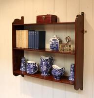 Mahogany Wall Shelves (10 of 10)