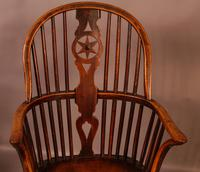 Set of 6 Kitchen Windsor Chairs Ash & Elm Thames Valley (19 of 21)