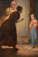 """Oil Painting by Robert Farrier """"Pheobe the Millers Maid"""" (4 of 5)"""