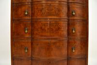 Large Antique Burr Walnut Chest of Drawers (6 of 11)
