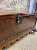 Small Carved Spanish Provincial Coffer (3 of 7)