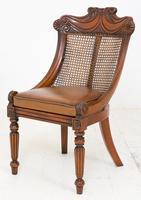 Wonderful Set of Regency Style Mahogany Chairs (8 of 9)
