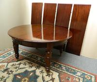 Large Mahogany Dining Table (7 of 7)
