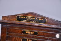Victorian John Taylor & Sons Oak Billiard Scoreboard (2 of 5)