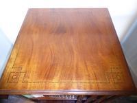 Inlaid Mahogany Revolving Bookcase (3 of 9)