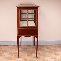 Inlaid Mahogany Display Cabinet (3 of 12)