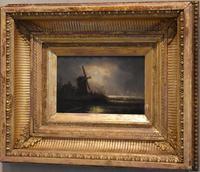 Victorian Night Scene Oil Painting (3 of 6)