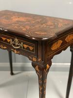 Rare 18th Century Dutch Marquetry Writing Table (12 of 13)
