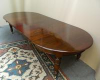 Large Mahogany Dining Table (5 of 7)