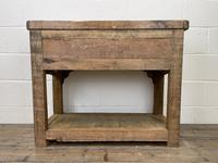 Reclaimed Wooden Sideboard with Two Drawers (10 of 10)