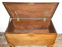 19th Century Mahogany Coffer or Blanket Chest (2 of 9)
