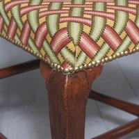 Antique Pair of George II Mahogany Side Chairs (9 of 10)