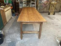 French Three Plank Cherry Wood Table (4 of 6)