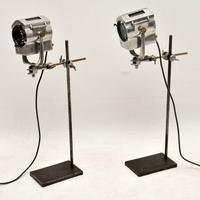 1950's Pair of Vintage Spotlights / Table Lamps (11 of 15)