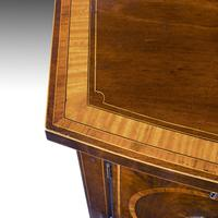 George III Sheraton Period Mahogany Bow Front Sideboard (6 of 7)