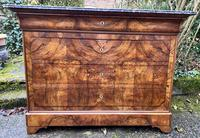Burr walnut Louis Philippe commode (9 of 13)
