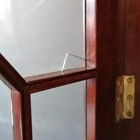 Victorian Mahogany Glazed Bookcase / Bureau with pigeon holes (2 of 14)