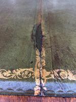 Brass Bound Mahogany Military Pedestal Desk (8 of 14)