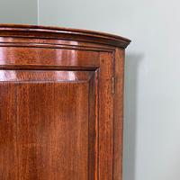 Stunning Georgian Oak Antique Corner Cupboard (4 of 6)