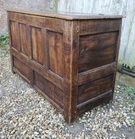18th Century Country Oak Coffer (3 of 9)