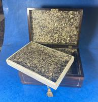 William IV Rosewood Jewellery Box (12 of 13)