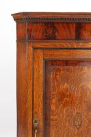Georgian Oak Corner Cupboard with Britannia Inlay (11 of 13)