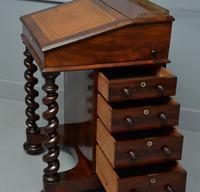 William IV Flame Mahogany Davenport Desk (13 of 18)