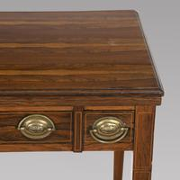 Victorian Rosewood Strung Games Table (4 of 4)