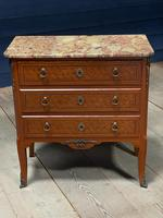 French Parquetry Commode Chest of Drawers (22 of 27)