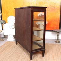 Glazed Bookcase Display Cabinet Edwardian Mahogany (7 of 9)
