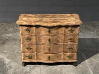 Early 19th Century Bleached Walnut Commode Chest of Drawers (11 of 13)